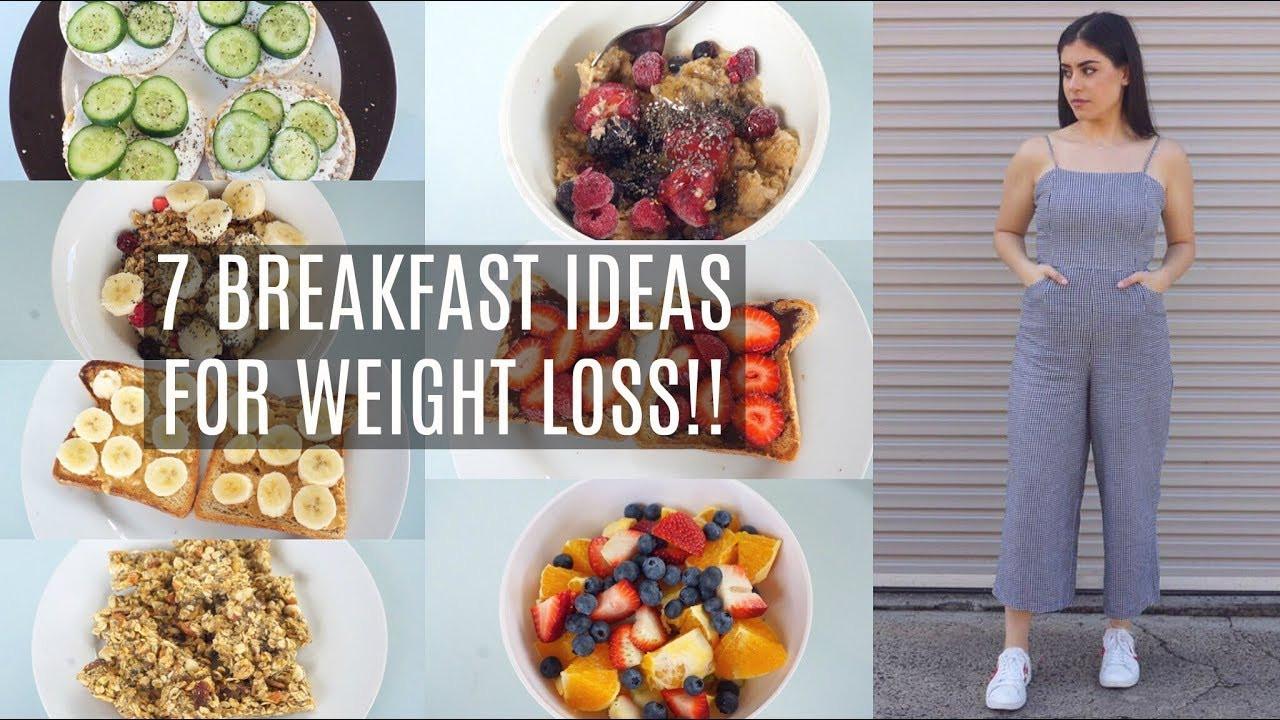 Quick Healthy Breakfast Ideas For Weight Loss  7 BREAKFAST IDEAS THAT HELPED ME LOSE 20KGS