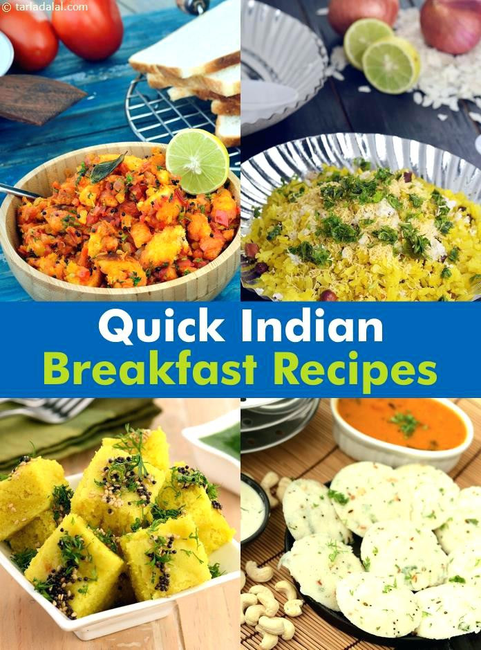 Quick Healthy Breakfast Ideas For Weight Loss  Fast Breakfast Ideas Fast Breakfasts Collage Quick