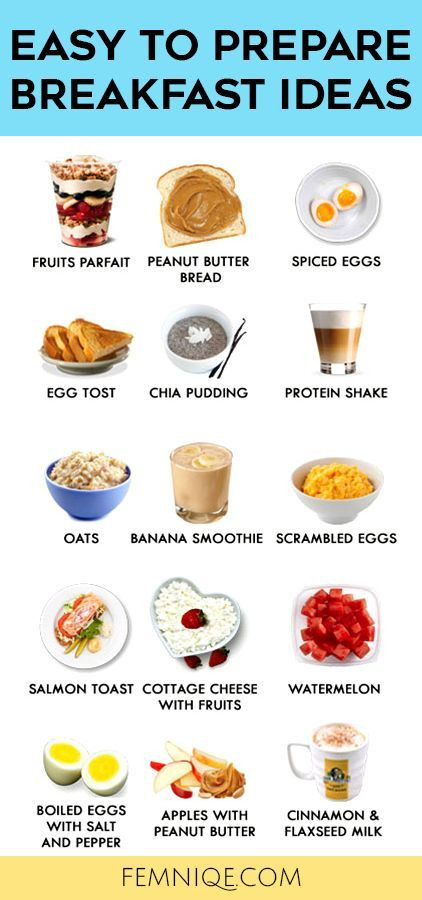 Quick Healthy Breakfast Ideas For Weight Loss  45 best Healthy Eating images on Pinterest