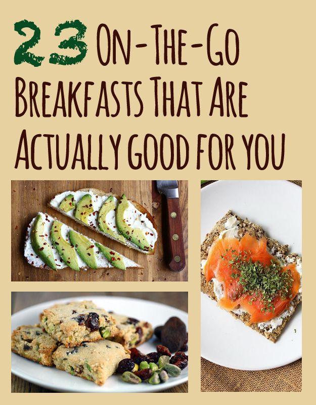 Quick Healthy Breakfast On The Go  Always looking for quick healthy breakfast options Now if