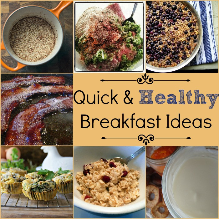 Quick Healthy Breakfast Options  Quick and Healthy Breakfast Ideas Tip Tuesday Natural
