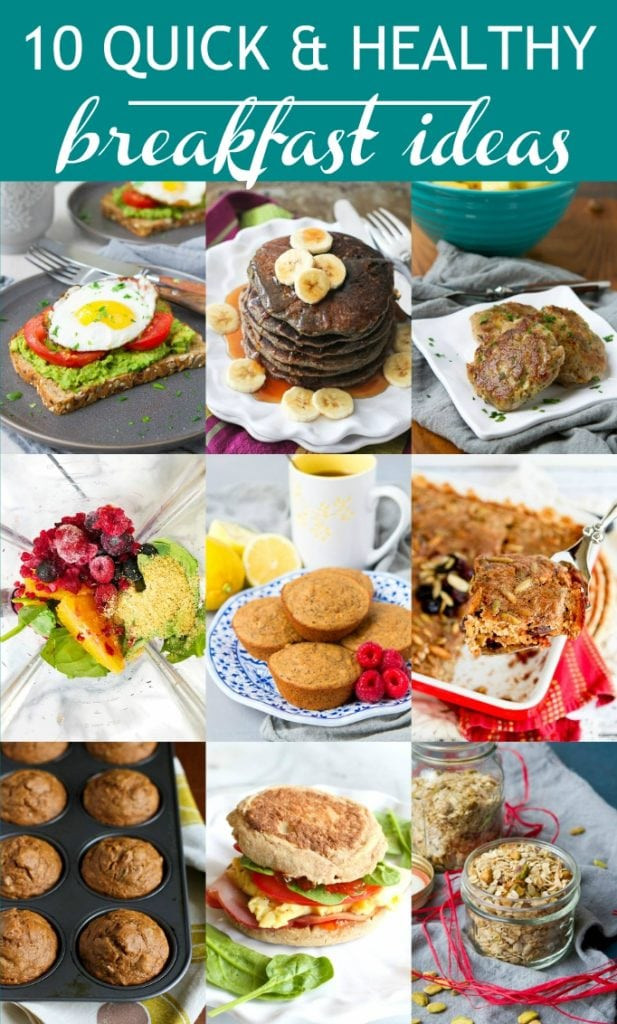 Quick Healthy Breakfast Recipes  10 Quick & Healthy Breakfast Ideas Cookin Canuck
