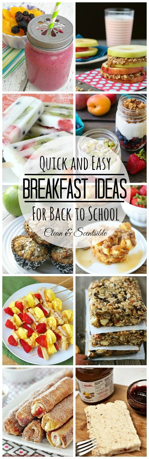 Quick Healthy Breakfast  Pinterest • The world's catalog of ideas