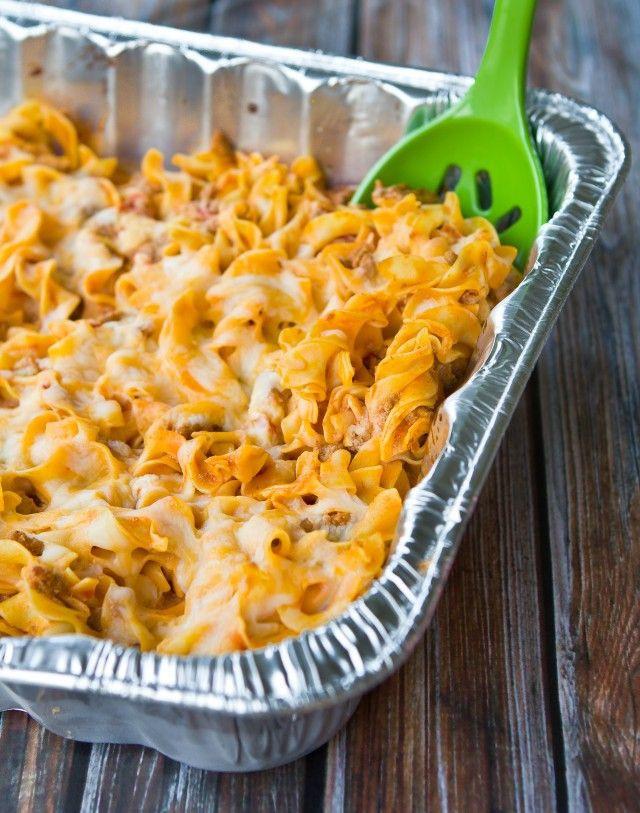 Quick Healthy Casseroles  Quick Noodle Casserole