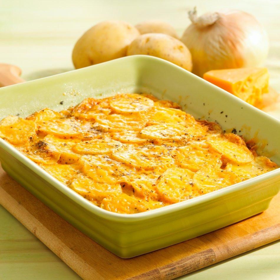 Quick Healthy Casseroles  Quick & Healthy Potato Casserole