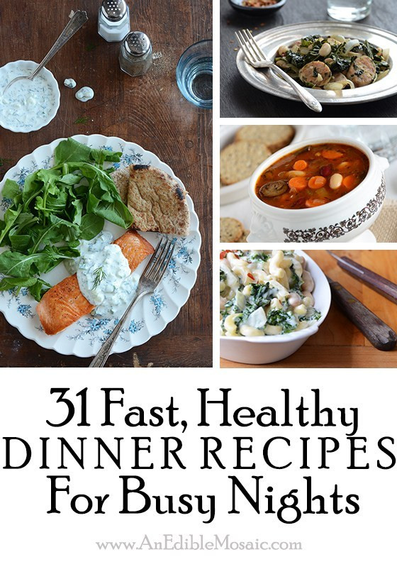 Quick Healthy Dinner For 2  31 Fast Healthy Dinner Recipes for Busy Nights And Food