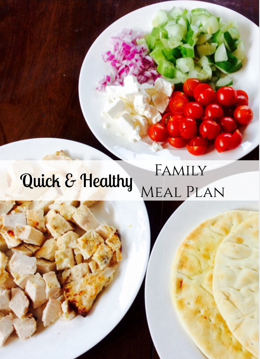 Quick Healthy Family Dinners  Quick & Healthy Family Meal Plan KENDRA MARAMAN