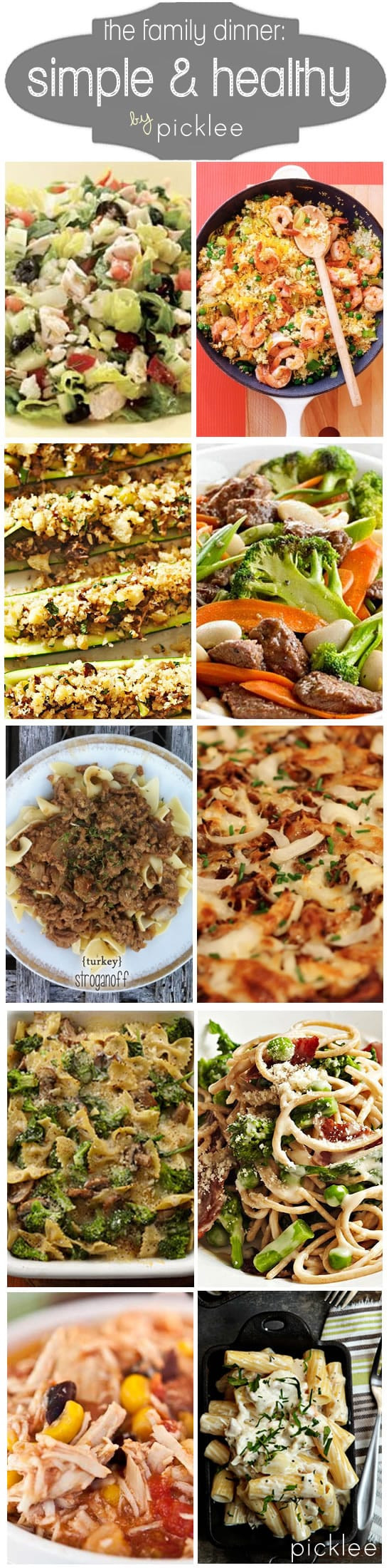 Quick Healthy Family Dinners  10 Simple & Healthy Weeknight Dinners [recipes] Picklee