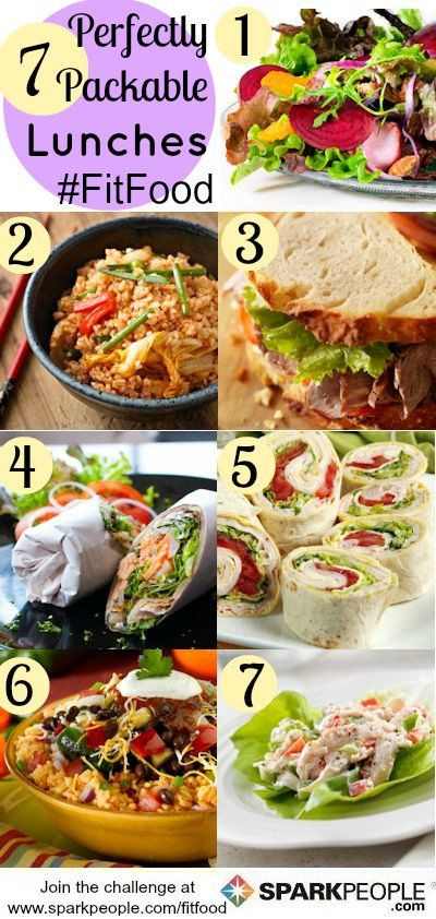Quick Healthy Lunches For Work  84 Quick & Healthy Meals in Minutes