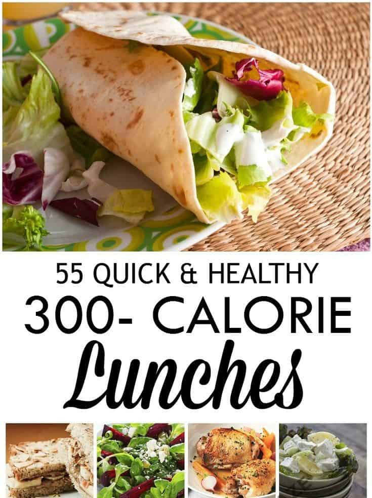 Quick Healthy Lunches  55 Quick & Healthy Low Calorie Lunch Recipes DIY Crafts Mom