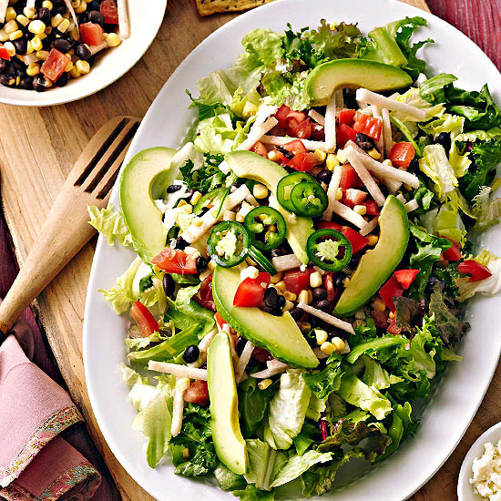 Quick Healthy Salads  Our Best Ve arian Mexican Dishes