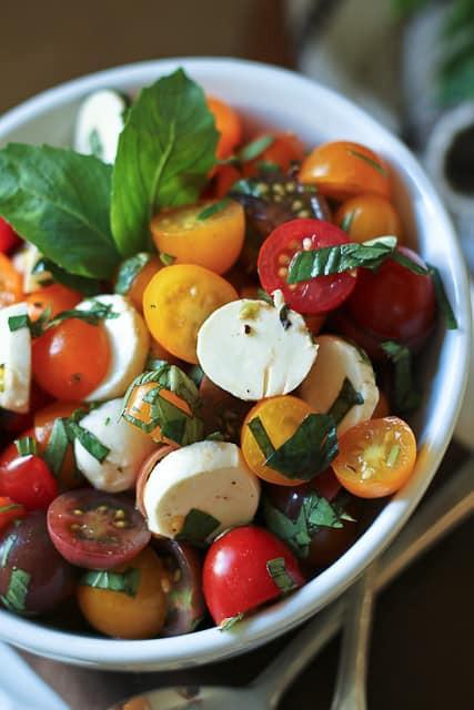 Quick Healthy Salads  Quick Caprese Salad • The Healthy Foo