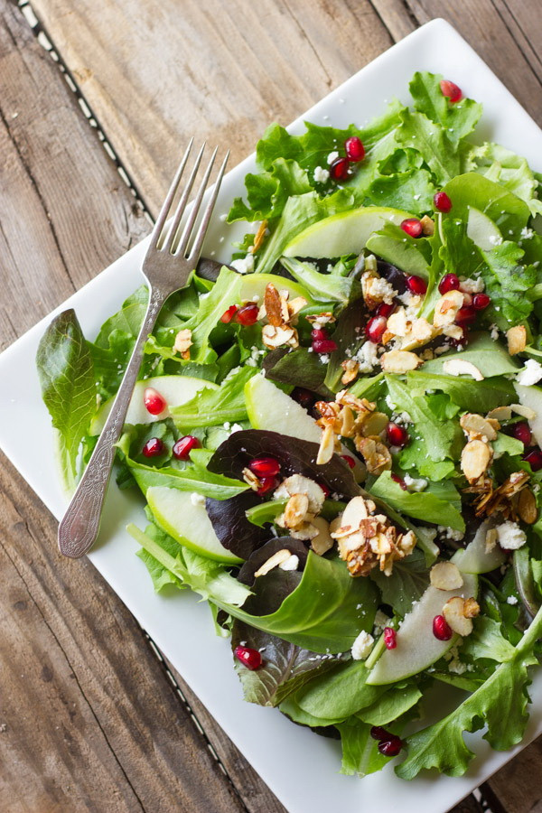 Quick Healthy Salads  Thanksgiving Fruit Salad & Cranberry Dressing – Best Easy