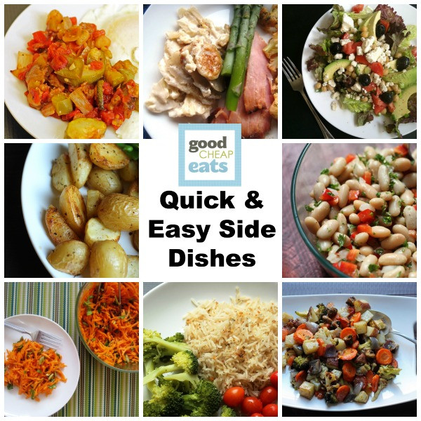 Quick Healthy Side Dishes  Quick and Easy Side Dishes