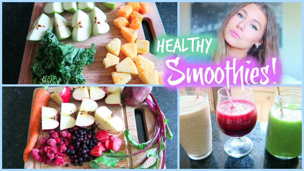 Quick Healthy Smoothies  3 Quick & Healthy Smoothie Recipes Healthy Living