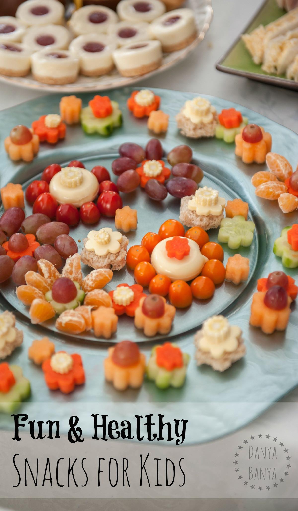 Quick Healthy Snacks For Kids  Fun & Healthy Snacks for Kids – Danya Banya