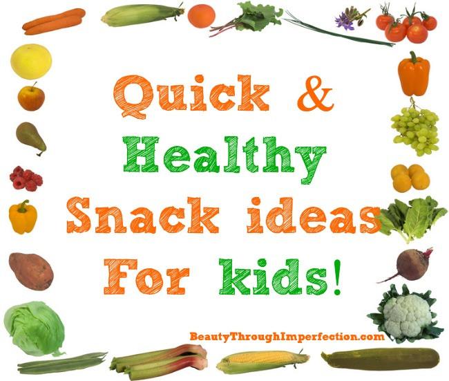 Quick Healthy Snacks For Kids  Stranger in a Strange Land January 2016