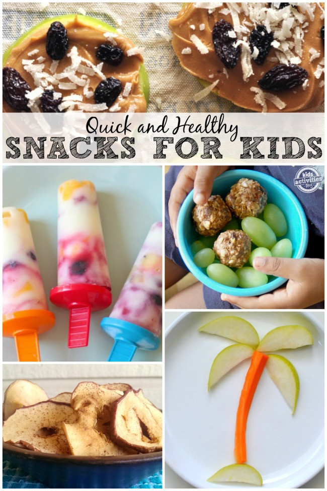 Quick Healthy Snacks For Kids  Healthy and Quick Snacks for Kids