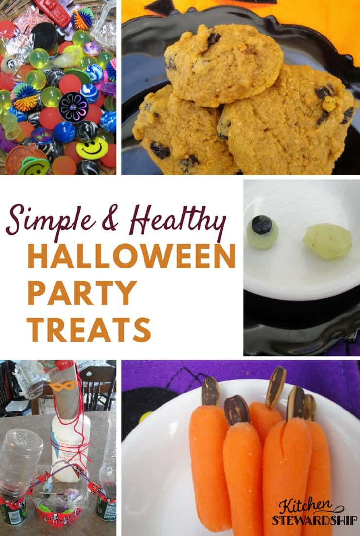 Quick Healthy Snacks For Work  Easy Healthy School Halloween Party Plan with No Sugar