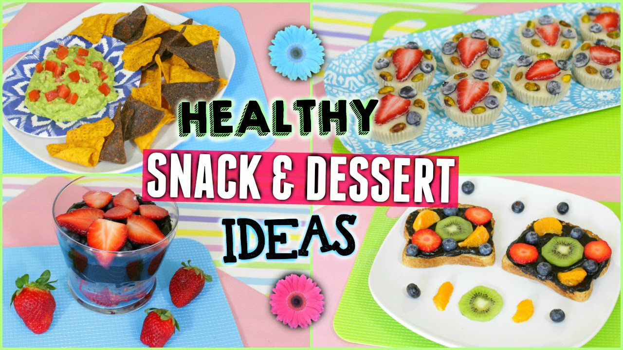 Quick Healthy Snacks For Work  Healthy Snack & Treat Ideas for After School or Work