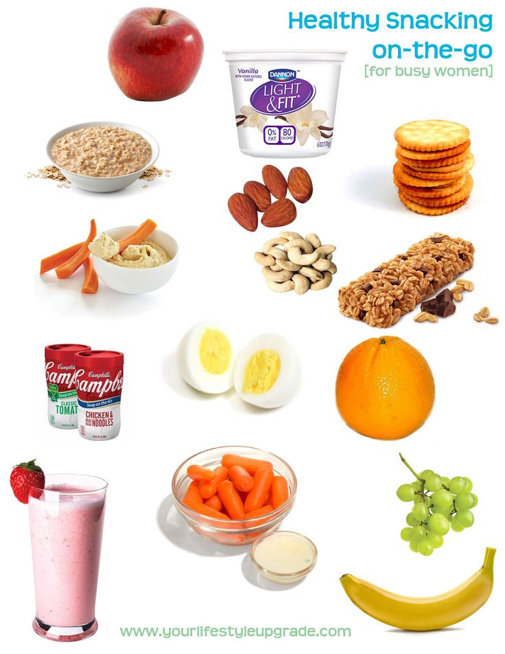 Quick Healthy Snacks On The Go  Here are some quick low calorie snacks for on the go and
