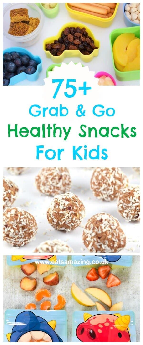 Quick Healthy Snacks On The Go  75 Healthy The Go Snacks for Kids