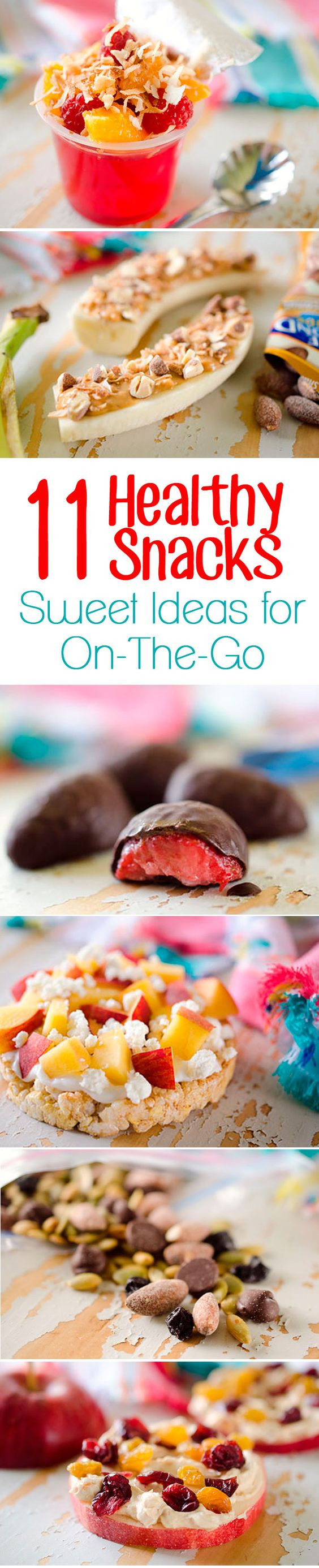 Quick Healthy Snacks On The Go  11 Healthy Snack Ideas Sweet Treats for The Go