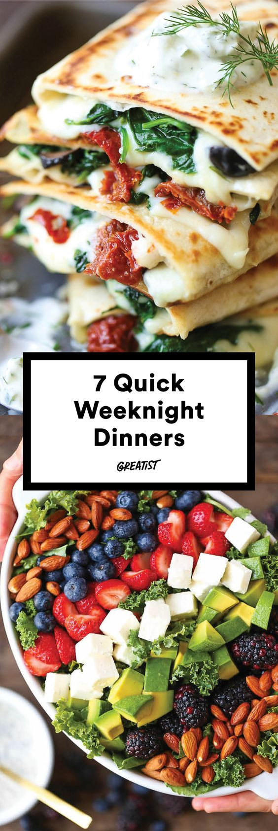 Quick Healthy Weeknight Dinners  7 Quick Fix Dinners That Make Weeknight Cooking a Cinch