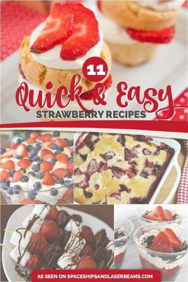 Quick Summer Desserts  11 Quick & Easy Strawberry Desserts for Summer