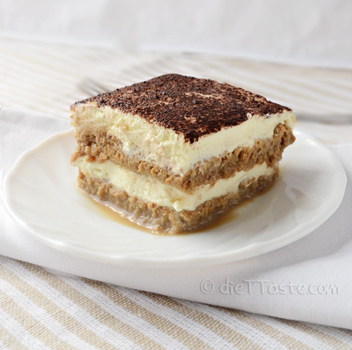 Quick Summer Desserts  Eggless Tiramisu