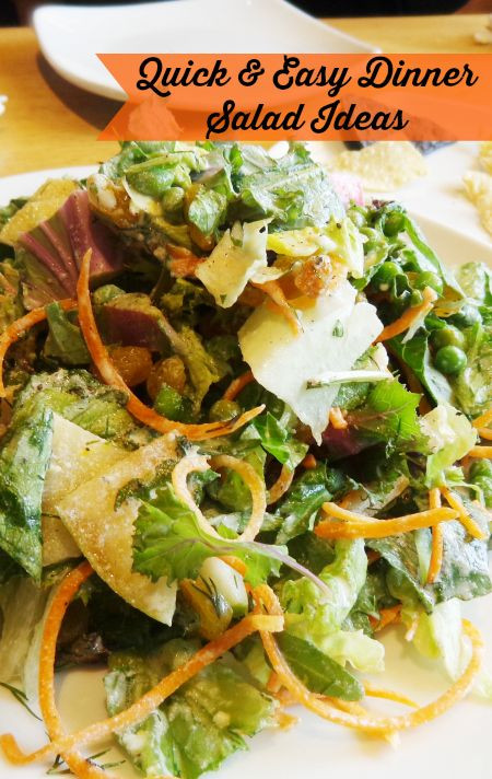 Quick Summer Dinners  Salads a Healthy Quick and Easy Summer Dinner