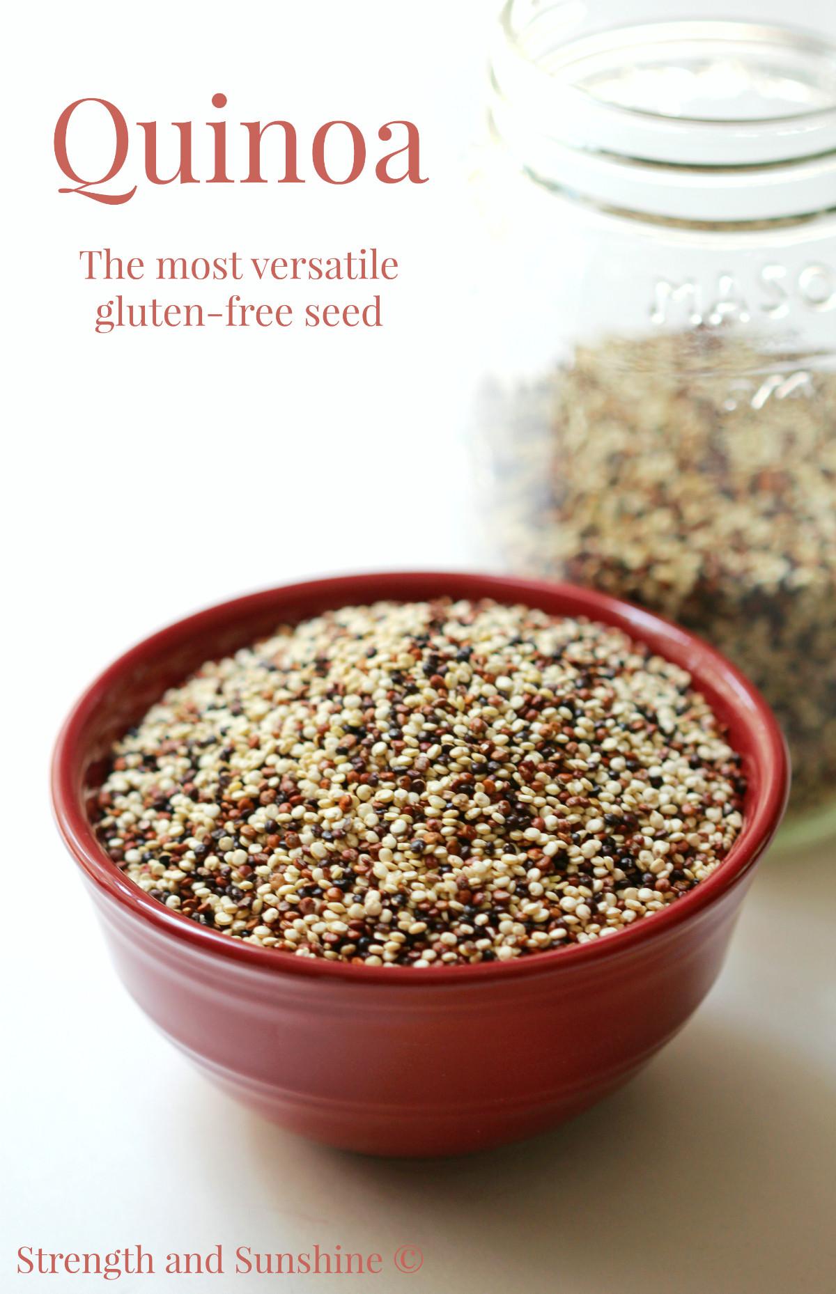 Quinoa Healthy Or Not  Quinoa The Most Versatile Gluten Free Seed