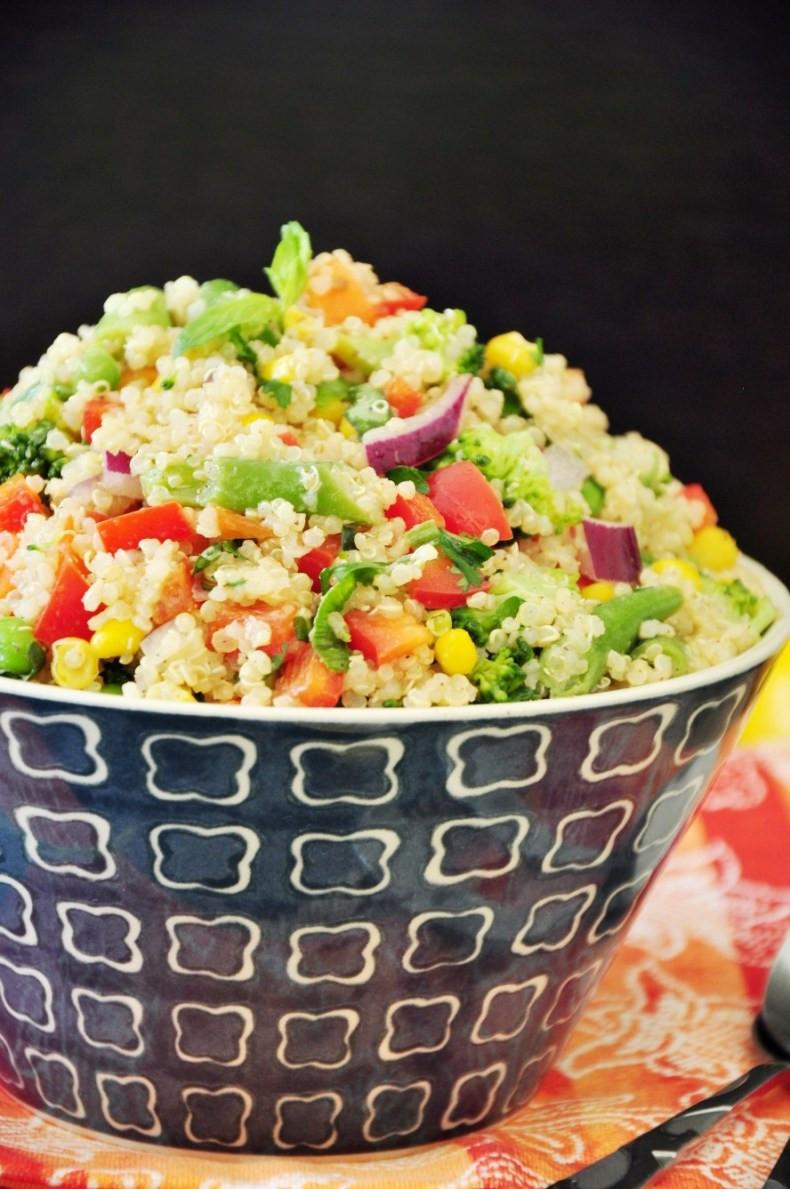 Quinoa Healthy Or Not  Healthy Quinoa Bowl StreetSmart Kitchen