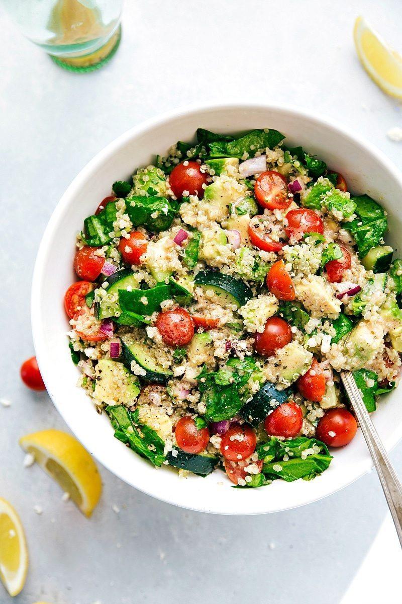 Quinoa Healthy Or Not  Quinoa Salad with Avocado