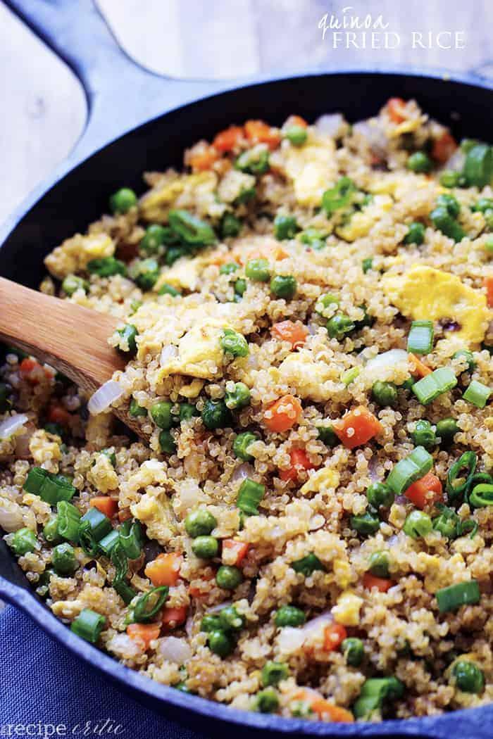 Quinoa Healthy Or Not  Quinoa Fried Rice