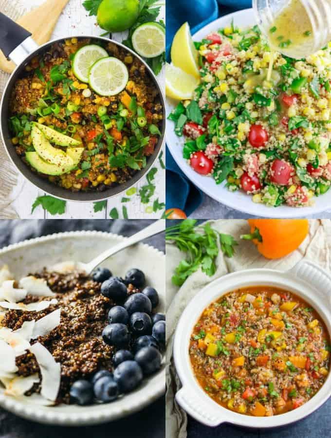 Quinoa Healthy Or Not  23 Healthy Vegan Quinoa Recipes Vegan Heaven