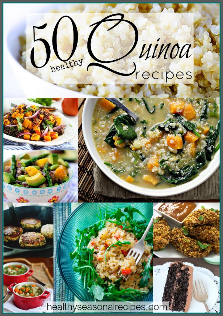 Quinoa Healthy Recipes  50 healthy quinoa recipes Healthy Seasonal Recipes