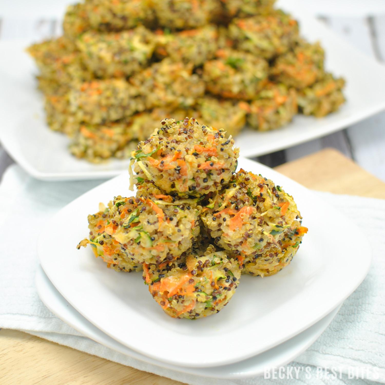 Quinoa Healthy Recipes  Veggie Quinoa Baby Bites