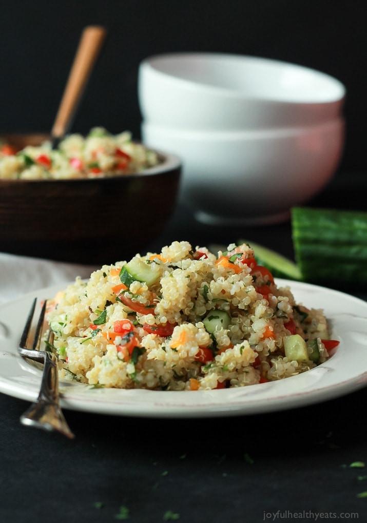 Quinoa Healthy Recipes  Quinoa Tabbouleh Salad