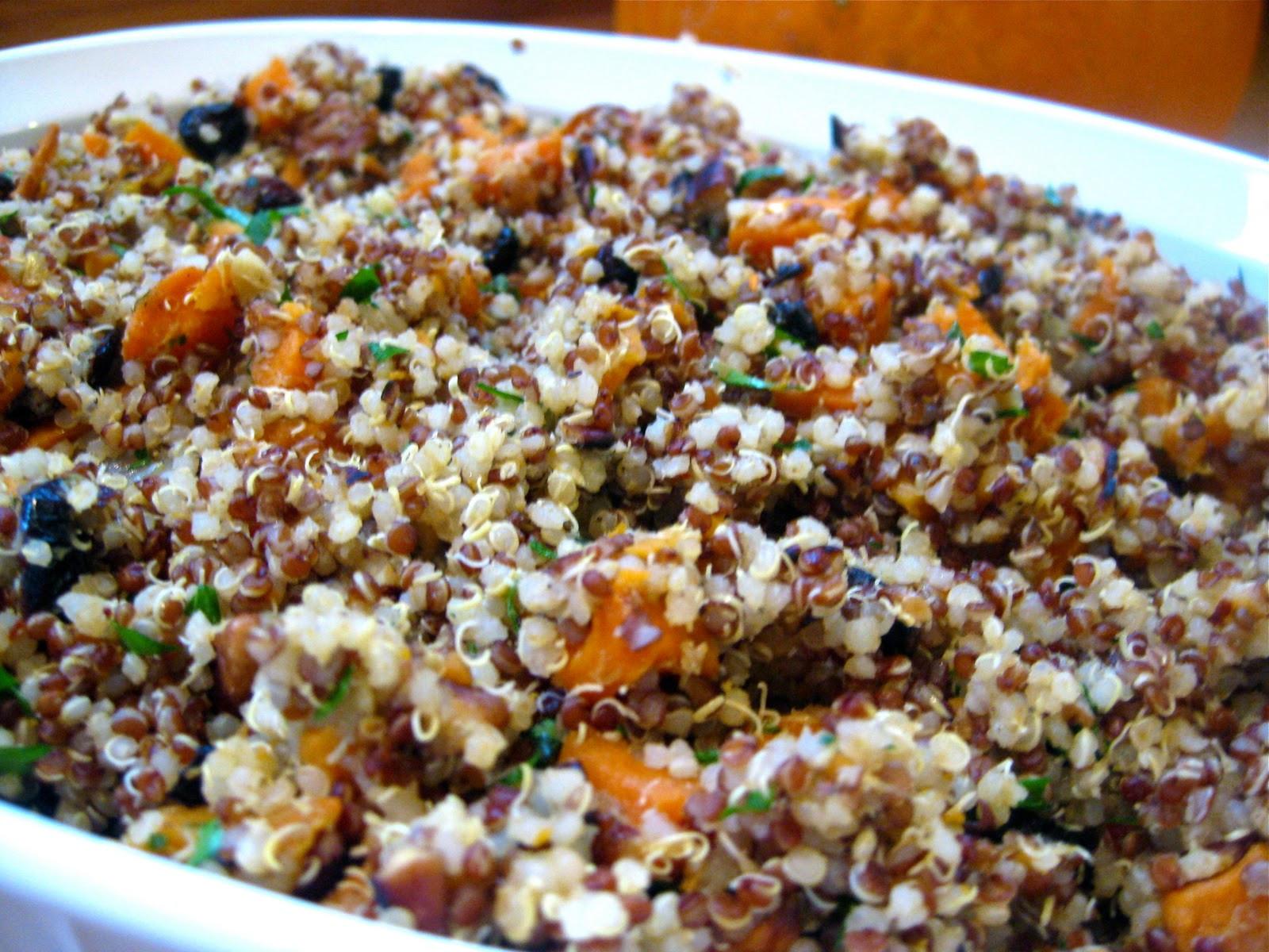 Quinoa Healthy Recipes  Quinoa Stuffing Recipe Gluten Free & Vegan