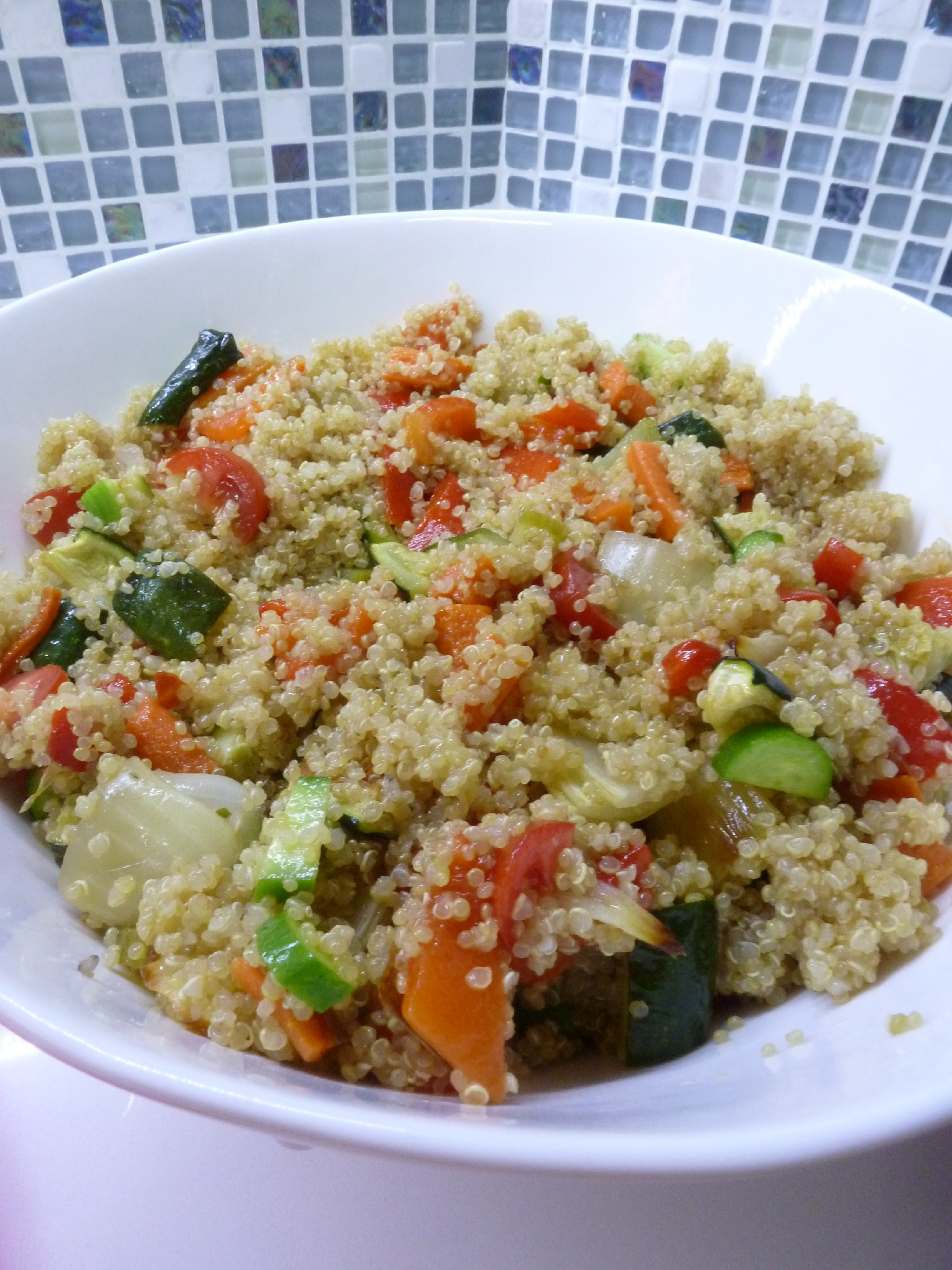 Quinoa Kosher For Passover  Roasted Ve able and Quinoa Salad with Citrus Dressing