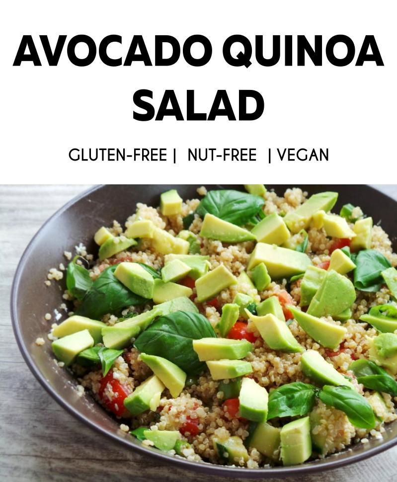 Quinoa Salad Healthy  Healthy Quinoa Summer Salad Beauty Bites