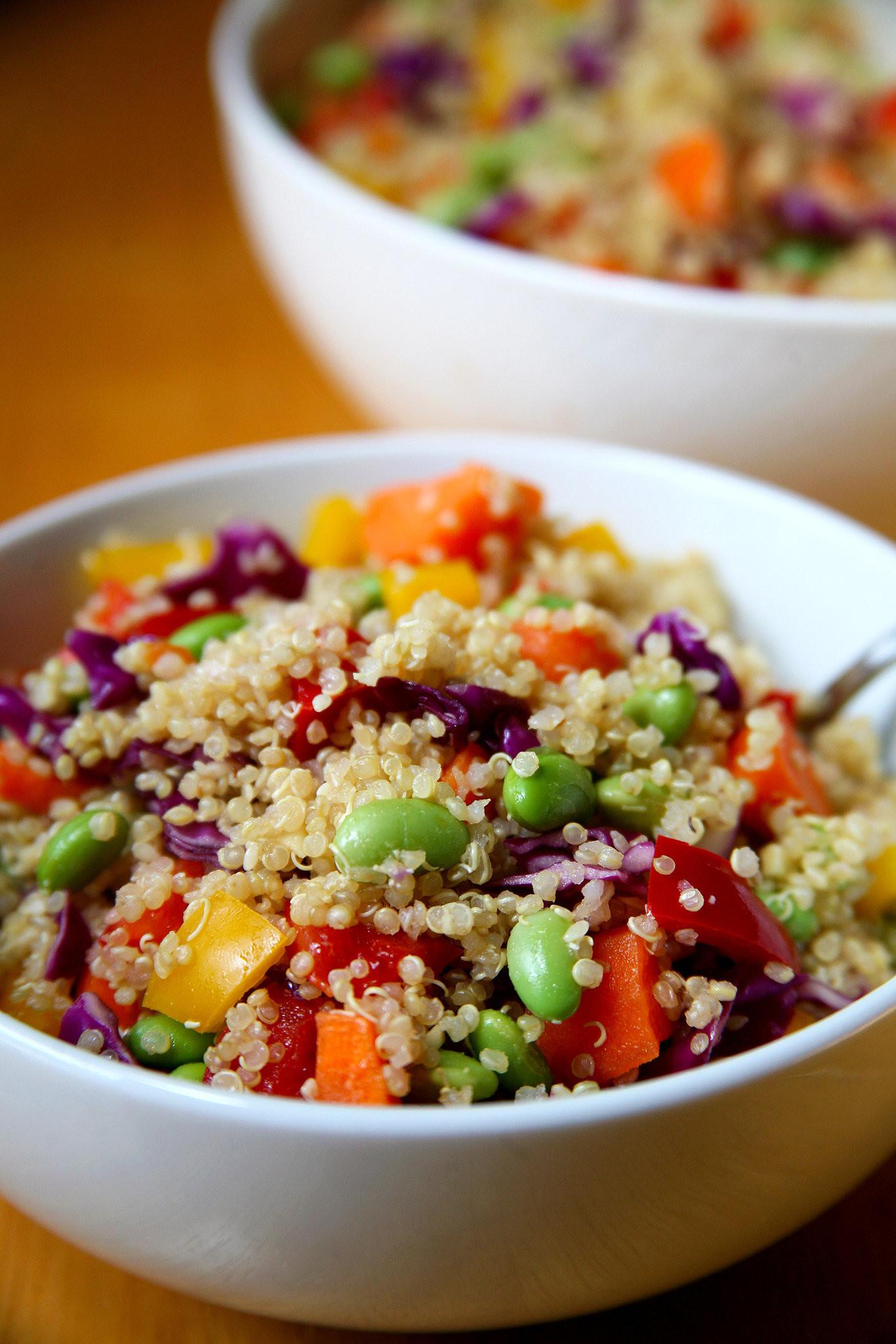 Quinoa Salad Healthy  Healthy Quinoa Vegan Salad