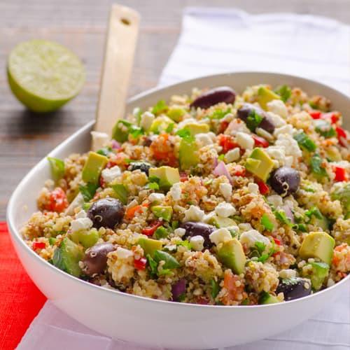 Quinoa Salad Recipes Healthy  Mediterranean Quinoa Salad Recipe iFOODreal Healthy