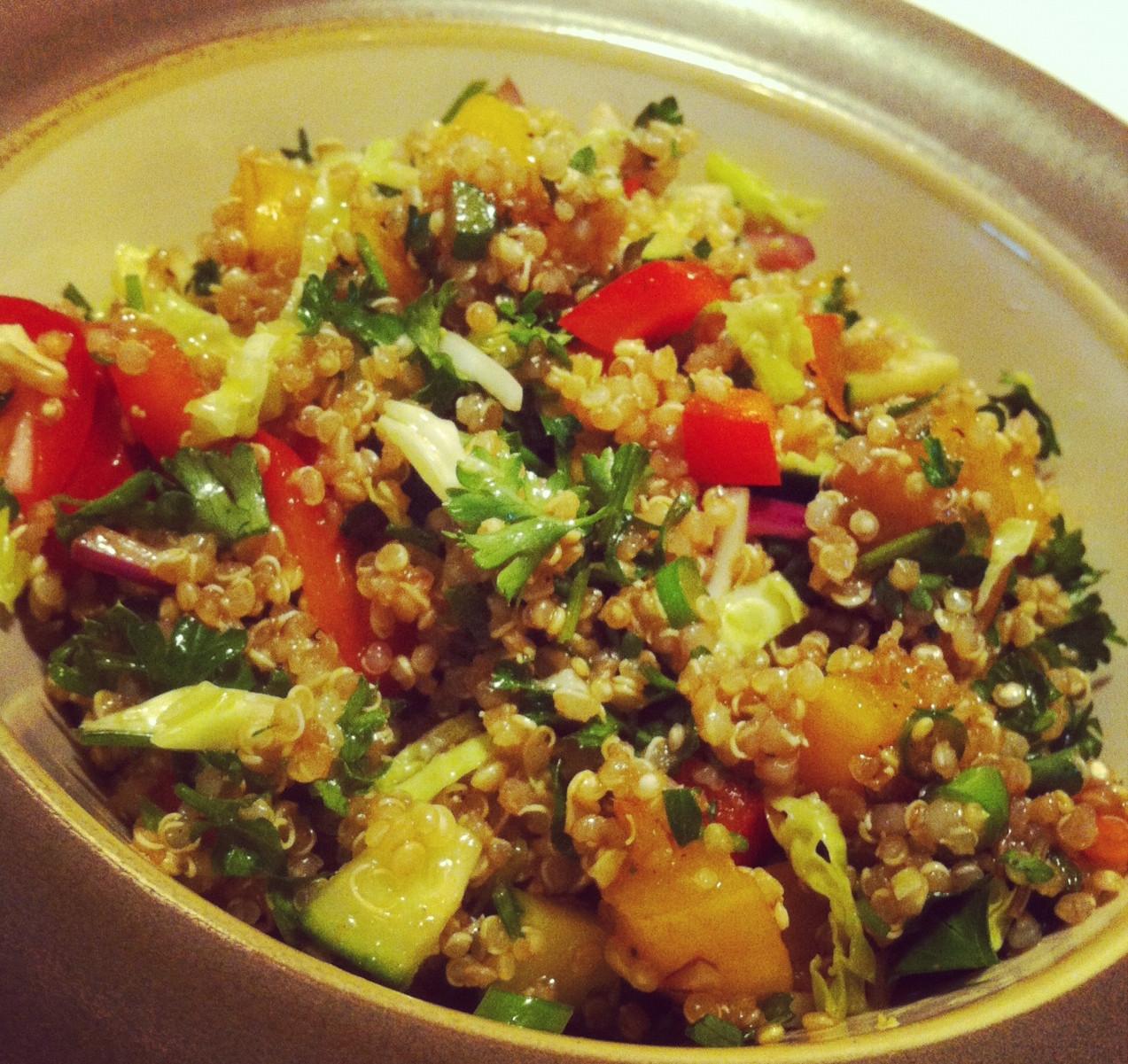 Quinoa Salad Recipes Healthy  Quinoa Salad Healthy Recipes Clear Path Chiropractic