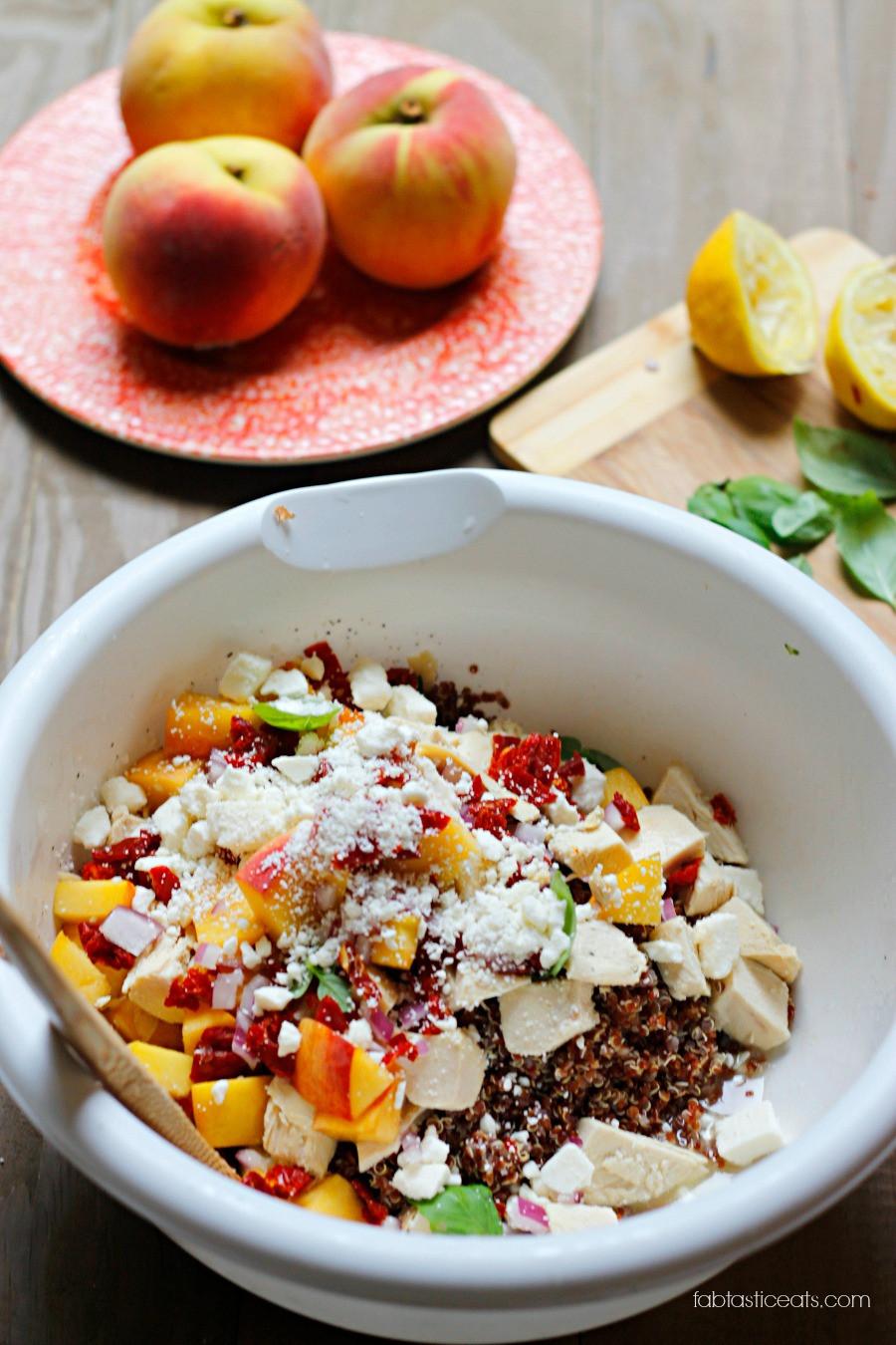 Quinoa Summer Salad  Belle Vie Summer Quinoa Salad Belle Vie