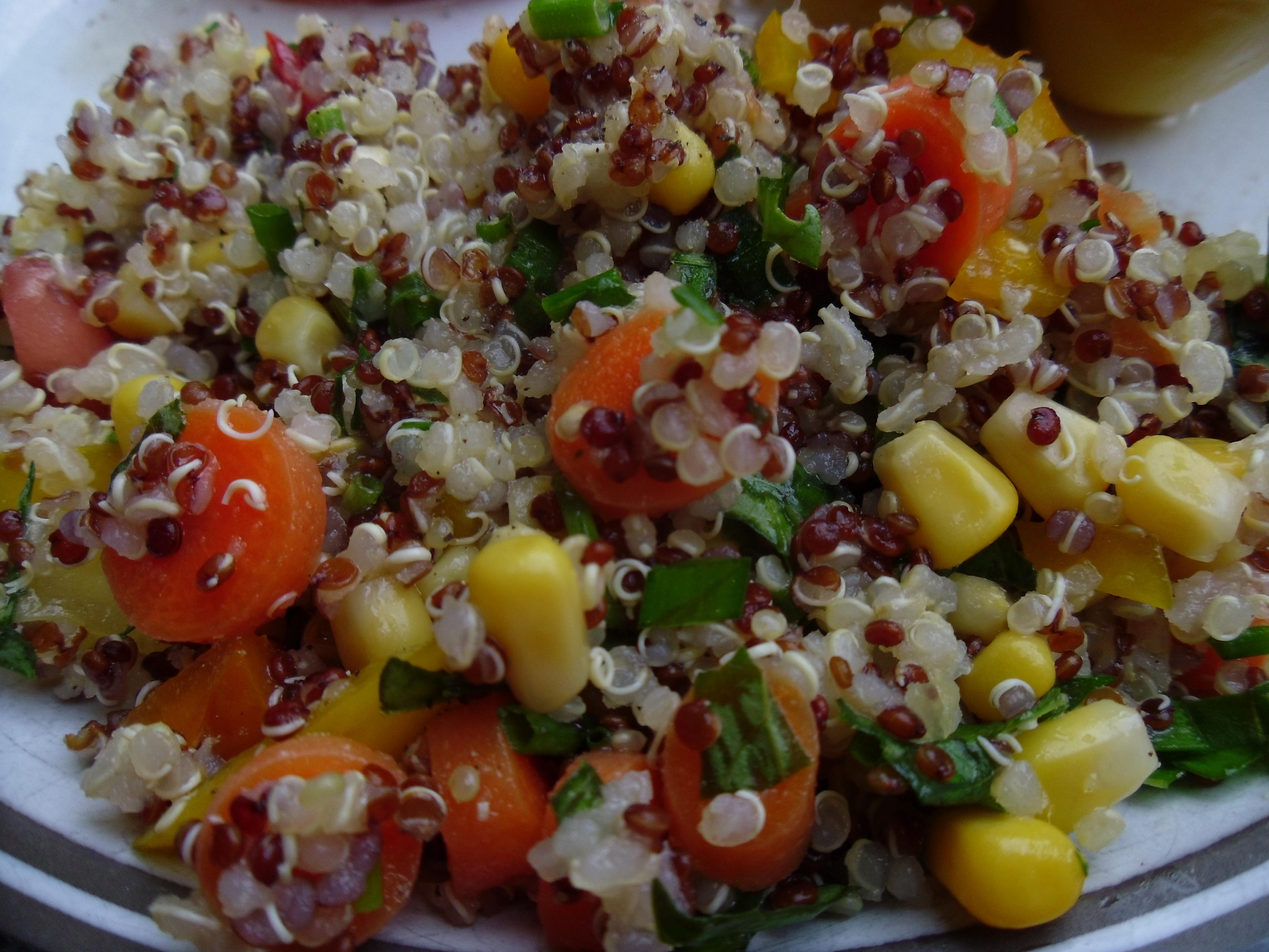 Quinoa Summer Salad  Quinoa Summer Salad