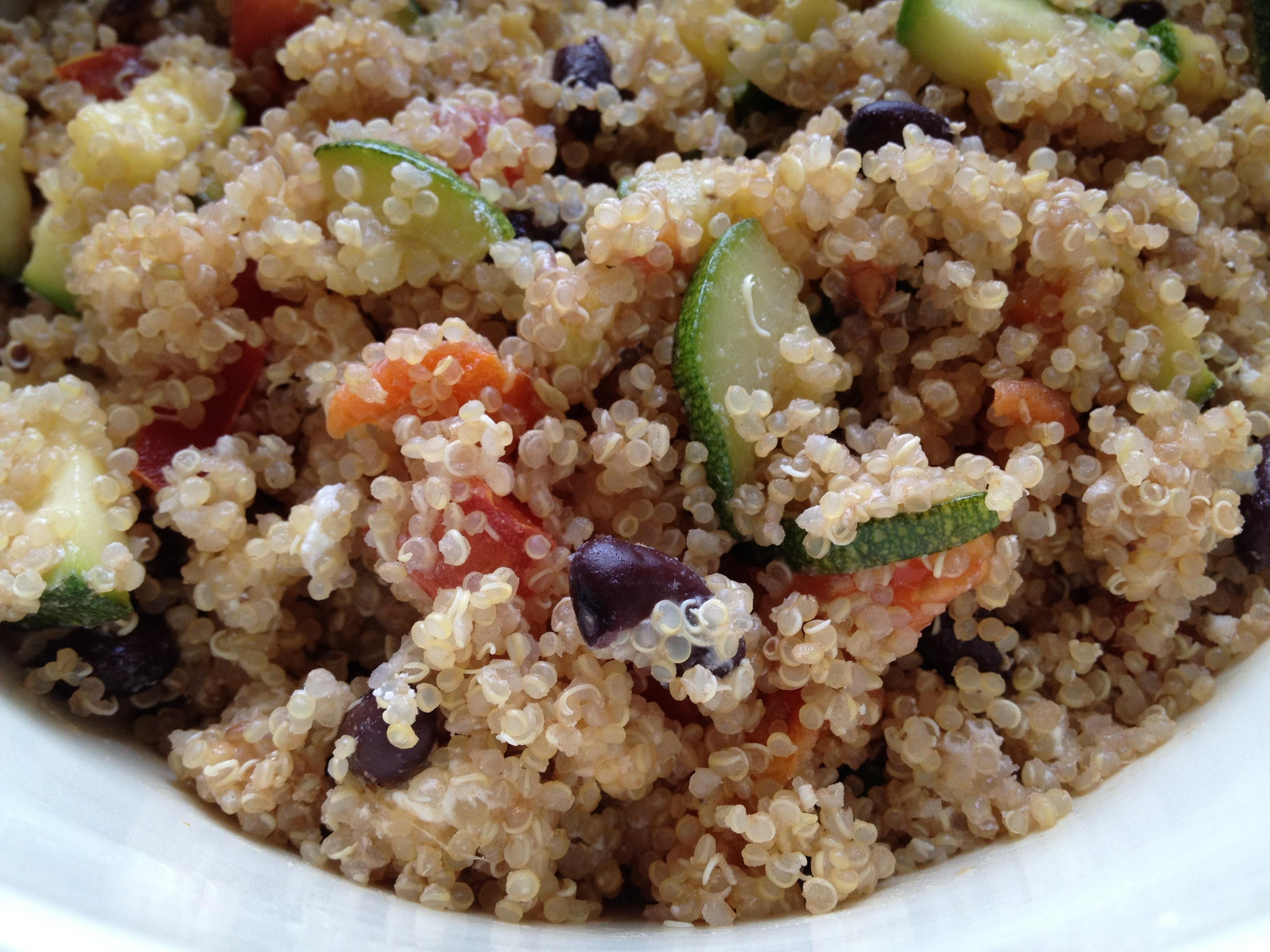 Quinoa Summer Salad  Secret Recipe Club Summer Quinoa Salad My Judy the Foo