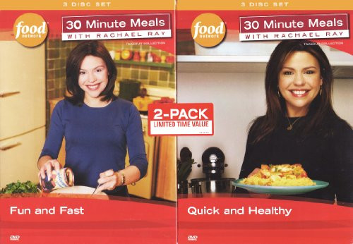 Rachael Ray Healthy 30 Minute Meals  30 Minute Meals with Rachael Ray Fun and Fast Quick and