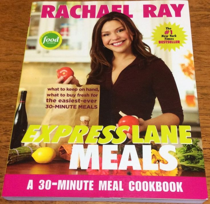 Rachael Ray Healthy 30 Minute Meals  rachael ray healthy recipes cookbook